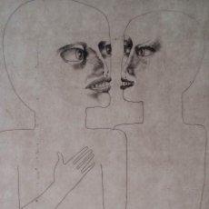 Arte: RUGER: EL PÍCARO, 1982 / AGUAFUERTE FIRMADO Y NUMERADO A LÁPIZ. Lote 50548485