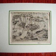 Arte: 1616-CONQUISTA DE BERCK.AMBROSIO SPINOLA.REY FELIPE III.LAS GUERRAS NASSAU. GUERRA FLANDES.ORIGINAL. Lote 50571156