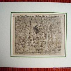 Arte: 1616-CONQUISTA CIUDAD DE BERCK. REY FELIPE III.GUERRAS NASSAU.GUERRA FLANDES.ORIGINAL. Lote 50571389