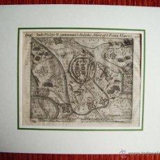 Arte: 1616-CONQUISTA CIUDAD DE RHEINUSBERKA. REY FELIPE II.GUERRAS NASSAU.GUERRA FLANDES.ORIGINAL. Lote 50571440