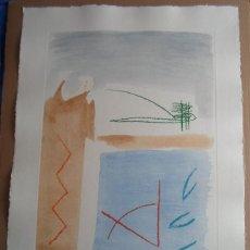Art: ALBERT RAFOLS-CASAMADA (BARCELONA 1923-2009) CAMI DE PRIMAVERA5 AGUAFUERTE 77X57 EN 104X75CMS 30/75. Lote 50632442