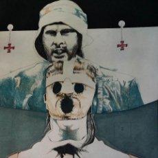 Arte: HANS DIEHL: EL INTERROGATORIO, 1973 / AGUAFUERTE FIRMADO Y NUM. A LÁPIZ. Lote 50662608
