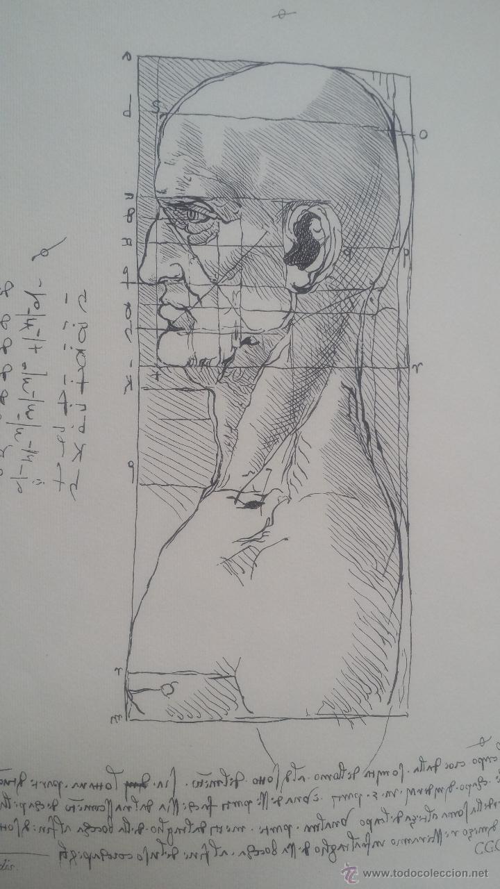 Arte: DISEGNI DI LEONARDO DA VINCI / CARLO CERLI / Pliego - Foto 4 - 50695102