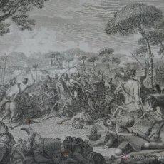Arte: GRABADO ACCION GLORIOSA EN SAN CUGAT DEL VALLES EN 1808, JUAN FOTOLOGRABO AÑO 1822, 49 X 38 CM . Lote 50727368