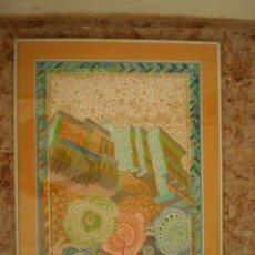 Arte: AGUAFUERTE GRABADO DE JUAN ROMERO. OBRA CUMBRE DEL ARTISTA. VER FOTOS. Lote 52952577