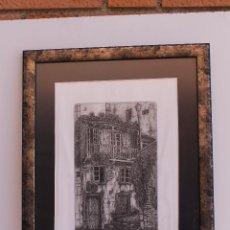 Arte: GRABADO VICTOR GOMEZ GARABANA. Lote 50849023