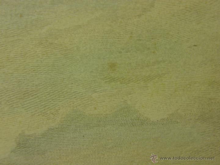Arte: grabado coloreado plancha s XX primera mitad paisaje caza départ chasse van Falens Le bas 56x76cms - Foto 20 - 51159557