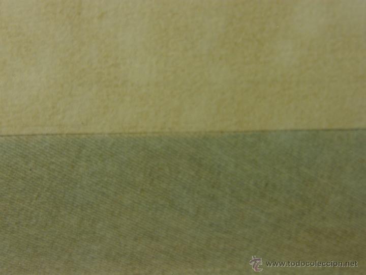 Arte: grabado coloreado plancha s XX primera mitad paisaje caza départ chasse van Falens Le bas 56x76cms - Foto 21 - 51159557