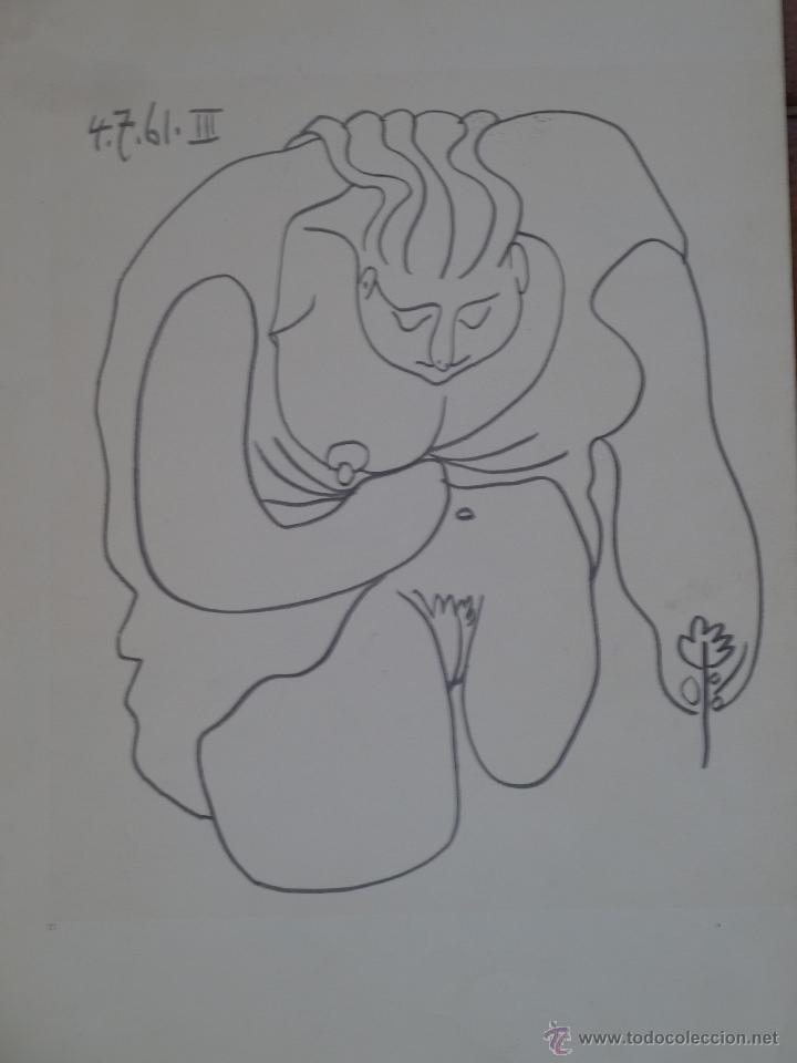 DOS GRABADOS DE PICASSO (Arte - Grabados - Contemporáneos siglo XX)