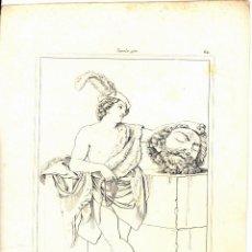Arte: NUEVE ESTAMPAS AL AGUAFUERTE DE ARCHILLE REVEIL DE 1872. Lote 51239185