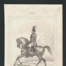 Arte: ALEJANDRO I.RUSIA.VERNIER,DEL.-LEMAITRE DIREXIT-LANGLOIS,SC.GRABADO SIGLO XIX.. Lote 51427148