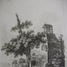 Arte: ANTIGUO GRABADO SIGLO XVII - XVIII 4ºCAHIER PL. 3 LAMBERT. Lote 51526279