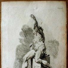 Arte: MAGISTRAL GRABADO ORIGINAL DE CHARLES NICOLAS COCHIN, PARIS, SIGLO XVIII, GRAN CALIDAD. Lote 51675731
