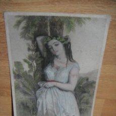 Arte: LA MUJER DE PUTIFAR - G.STAAL - W. H. MOTE. Lote 51787690