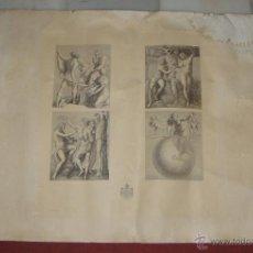 Arte: ANTIGUO GRABADO. S.XIX. RAFFAELE SANZIO.. Lote 51964602