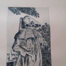Arte: GRABADO DE JOAQUÍN MARTÍNEZ ALBARRACÍN (1958-1996) - FIRMADO - 100/125. Lote 52023765