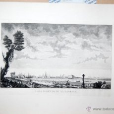 Arte: CÁDIZ. VISTA SEGUNDA DE LA CARRACA. Lote 52139677