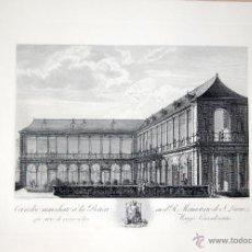 Arte: EL ESCORIAL. CORREDOR INMEDIATO A LA BOTICA EN EL R. MONASTERIO DE S. LORENZO. Lote 52140635