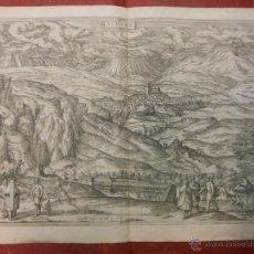 Arte: 1564 GRABADO VISTA DE ALHAMA GRANADA - CIVITATES ORBIS TERRARUM - BRAUN & HOGENBERG SIGLO XVI. Lote 52538761