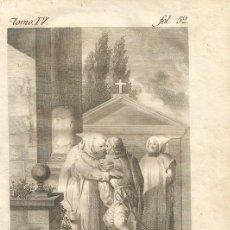 Arte: GRABADO O ESTAMPA DE TOMÁS LÓPEZ ENGUIDANOS FINAL SIGLO XVIII. Lote 52591331