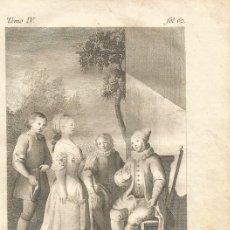 Arte: GRABADO O ESTAMPA DE VICENTE LÓPEZ ENGUIDANOS FINAL SIGLO XVIII. Lote 52591341