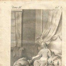 Arte: GRABADO O ESTAMPA DE JOSÉ CAMARÓN Y VICENTE PASCUAL PEREZ FINAL SIGLO XVIII. Lote 52591367