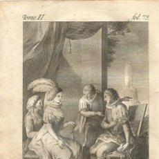 Arte: GRABADO O ESTAMPA DE JOSÉ CAMARÓN Y VICENTE PASCUAL PEREZ FINAL SIGLO XVIII. Lote 52591383