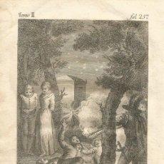 Arte: GRABADO O ESTAMPA DE JOSÉ CAMARÓN Y RAFAEL ESTEVE FINAL SIGLO XVIII. Lote 52591428