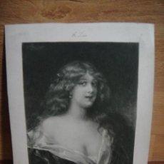 Arte: PINTURA DE EDOUARD ZIER - GRABADO - EDITADO POR A.LE VASSEUR & ET CIE - PARIS 1906. Lote 52671682