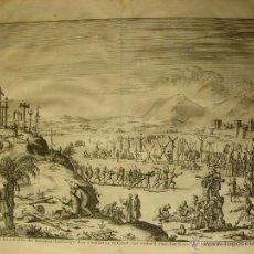 Arte: «D' AAL-OUDE KRUIS-STRASSEN DER ROMEINEM ..PUBLICADO WILHEMS GOEREE EN 1690 GRABADO POR JAN LUYKENS. Lote 52680405