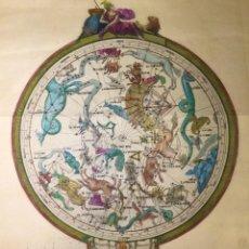 Arte: HEMISFERIO MERIDIONAL DE VICENTE LÓPEZ ENGUÍDANOS, 1793. GRABADO CALCOGRÁFICO. Lote 52833981