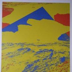 Arte: DIETER HAACK: SUPERIOR AL MUNDO, 1993 / SERIGRAFÍA FIRMADA Y NUMERADA A LÁPIZ. Lote 52868591
