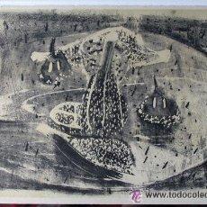 Arte: GRABADO ORIGINAL DE PANCHO COSSIO. FIRMADO A MANO. 99/170. ORIGINAL. Lote 52932352