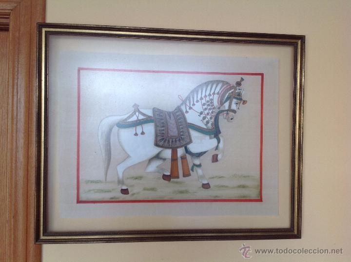 TEMPLE ( GUACHE) TRAÍDO DE LA INDIA (Arte - Grabados - Contemporáneos siglo XX)