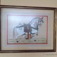 Arte: TEMPLE ( GUACHE) TRAÍDO DE LA INDIA. Lote 52939574