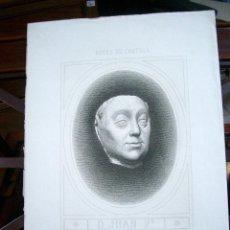 Arte: GRABADO, REYES DE CASTILLA-D. JUAN 2º-- MASSON SC. Lote 52954018