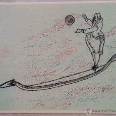 Arte: MAX ERNST: LITOGRAFÍA NºXIV, WUNDERHORN (CARROLL) / 1970 /EDICIÓN 300 EJEMPLARES. Lote 52968011