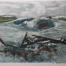 Arte: JOSEF SCHIBLI: WINTER STRAND, 1979 / AGUAFUERTE NUMERADO Y FIRMADO A LÁPIZ. Lote 52968294