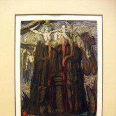 Arte: GRABADO ORIGINAL DE ERNST FUCHS. Lote 53024968