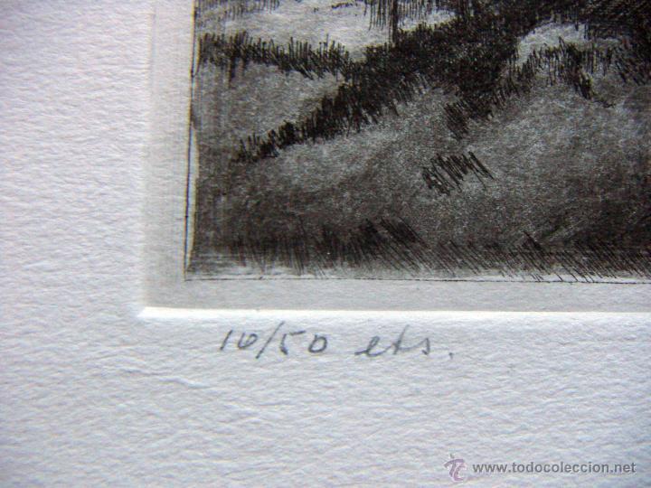 Arte: Grabado original firmado - Foto 3 - 53031138