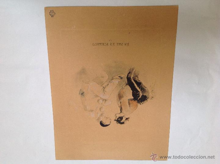 Arte: Tres grabados franceses. Años 20 - Foto 2 - 53126553