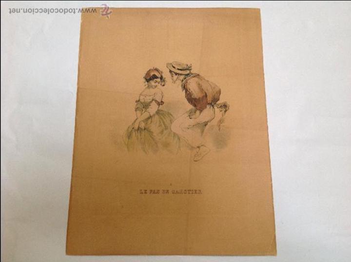 TRES GRABADOS FRANCESES. AÑOS 20 (Arte - Grabados - Contemporáneos siglo XX)