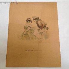 Arte: TRES GRABADOS FRANCESES. AÑOS 20. Lote 53126553