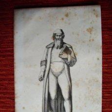 Arte: 1855-JUAN GUTTEMBERG.INVENTOR IMPRENTA. HÉROES Y MARAVILLAS DEL MUNDO. GRABADO ORIGINAL. Lote 53142937