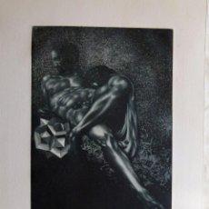 Arte: GRABADO AGUAFUERTE FIRMADO JENS RUSCH. Lote 53207148