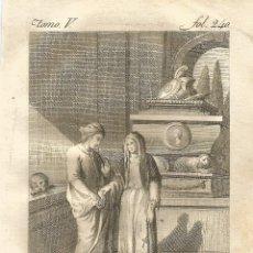 Arte: GRABADO O ESTAMPA DE ANTONIO RODRÍGUEZ ONOFRE SIGLO XVIII. Lote 53238481