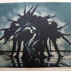 Arte: GRABADO AGUAFUERTE FIRMADO JENS RUSCH. Lote 53254869