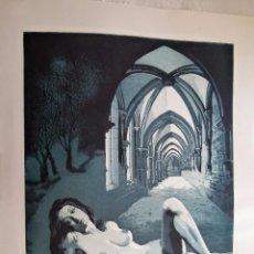 Arte: GRABADO AGUAFUERTE FIRMADO JENS RUSCH. Lote 53254932