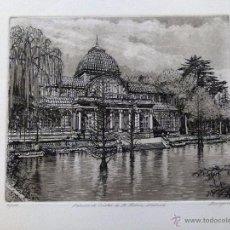 Arte: GRANADO DEL PALACIO DE CRISTAL FIRMADO J.Mª DEL VALLE BOURGON. Lote 53263883