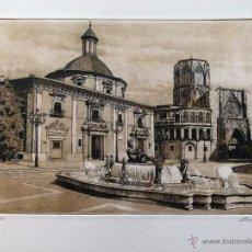 Arte: GRABADO DE J.Mª DEL VALLE BOURGON. Lote 53264267